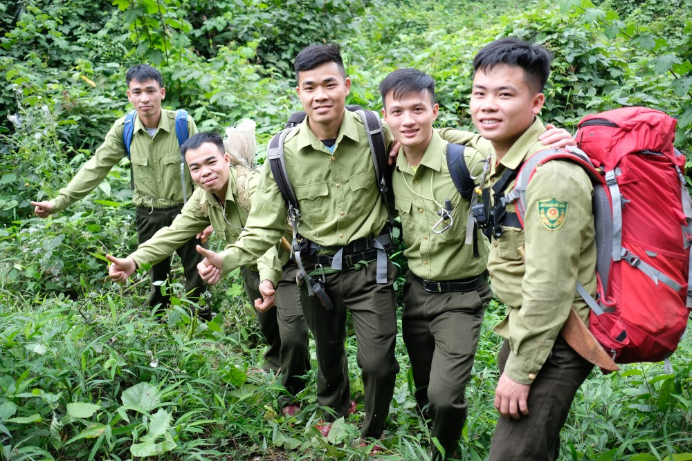 The APU consists of villagers hired from local communities living around the Pu Mat National Park. This strategy ensures that future generations of Vietnamese are informed and inspired to appreciate the value of wildlife and to stop hunting and consumption practices.