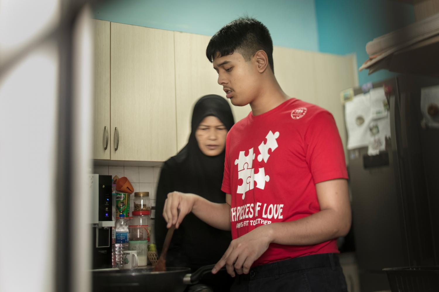 Ultimately, Adli and Nozilan hope for the Project to teach Luqman basic practical skills, and to help secure his future when they are no longer around.