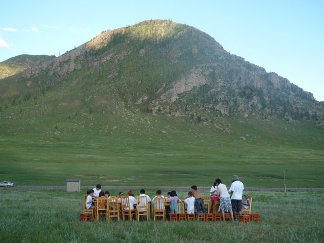 ...form the backdrop to the Mongolia Summer Camp