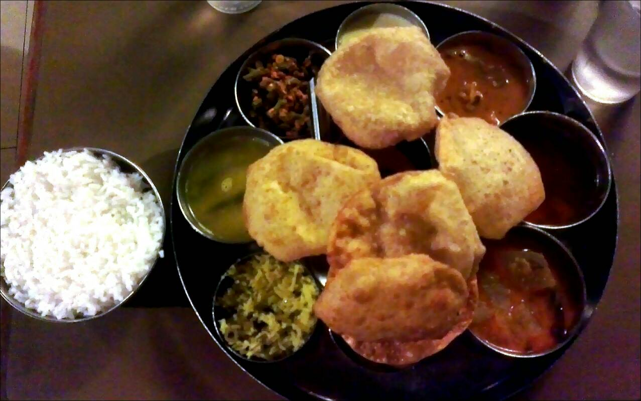 Day 12 famous thali dish