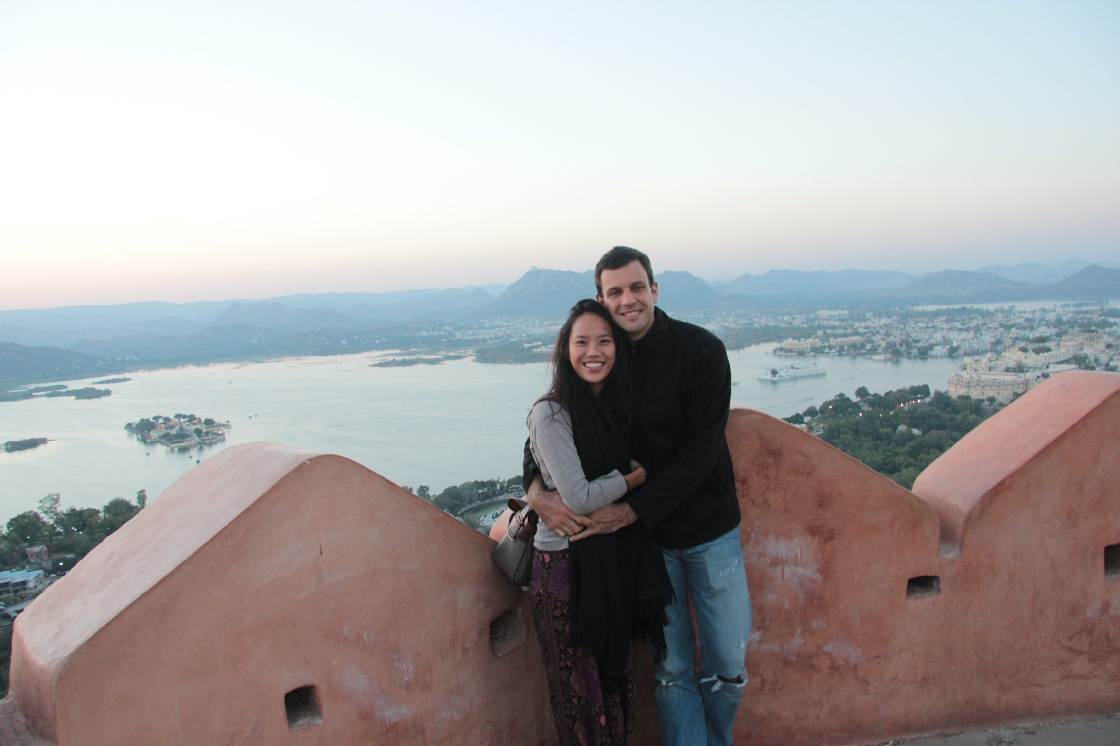 Lookout point in Udaipur