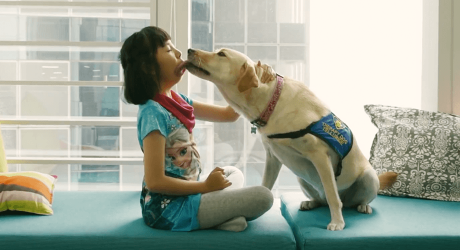 How a dog's belief in a child helped her believe too