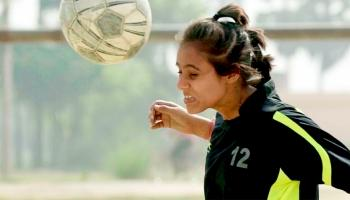 Score one against blindness, and one for girls' rights
